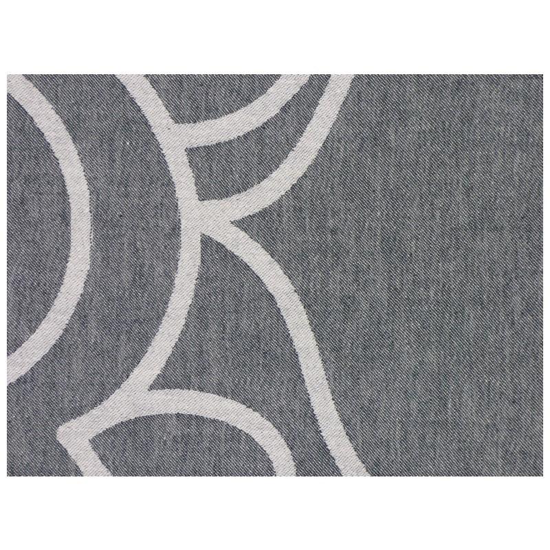 "Strandtuch ""Cala Gracioneta"" (100 x 190 cm) - Black of Night - Vorderseite Detail"