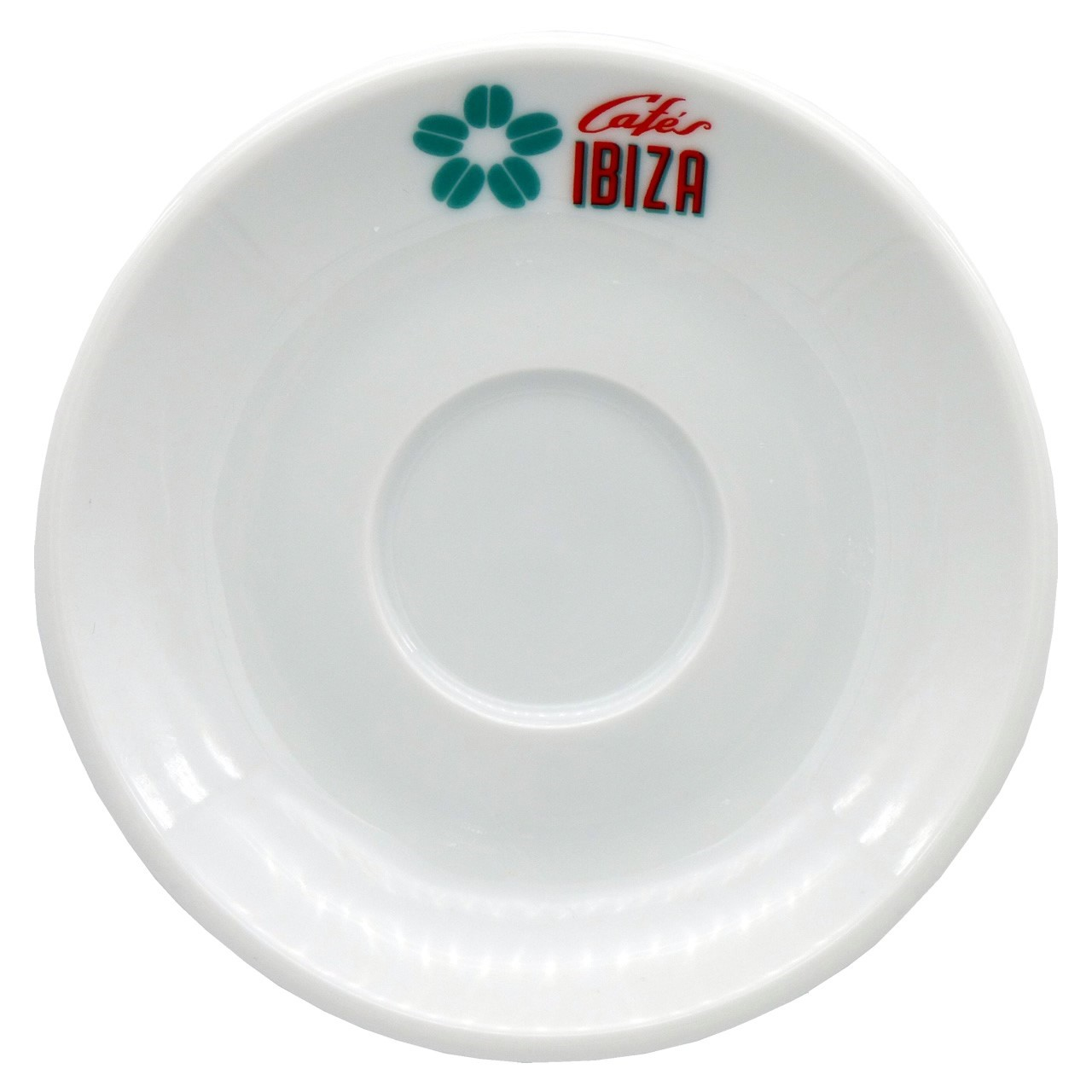 """Bild von Milchkaffee Tasse """"Cafés Ibiza"""" aus weißer Keramik (120 ml)"""