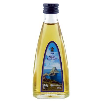 Hierbas Ibicencas in der Mini-Flasche (0,04 L) - Vorderseite