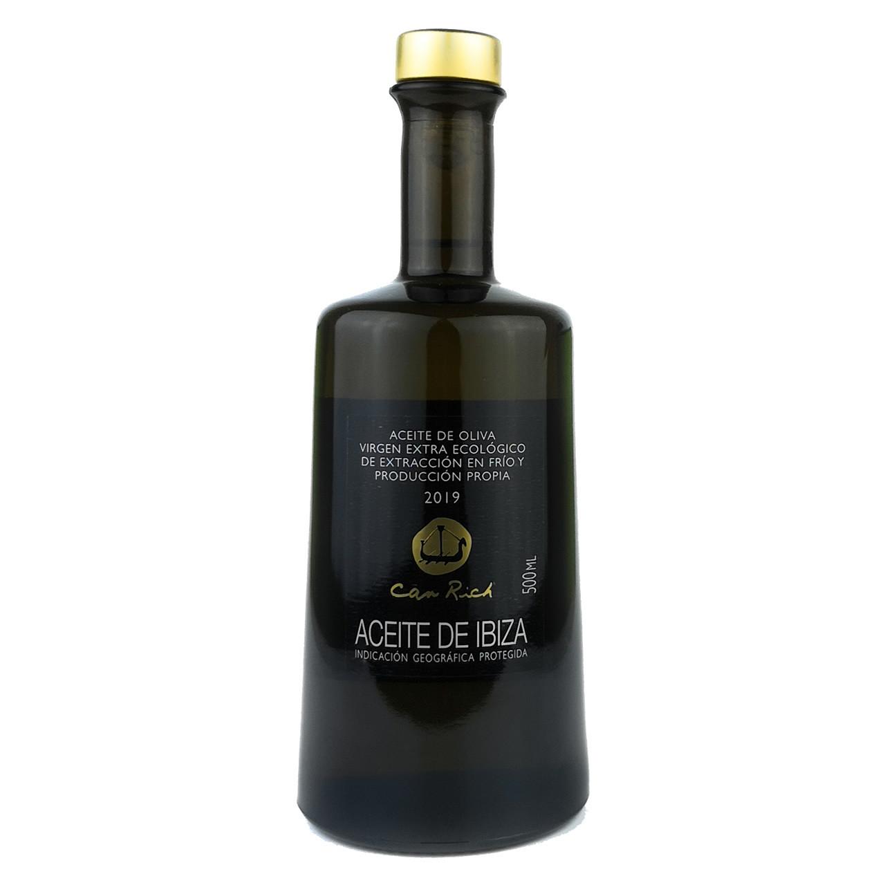 Extra Natives Bio Olivenöl (500 ml) - Can Rich Vorderseite
