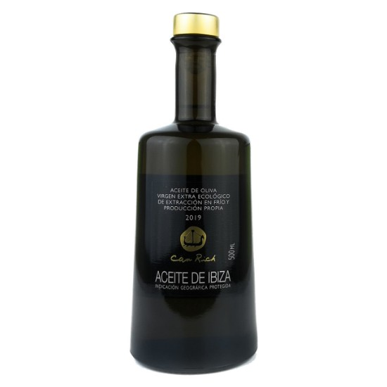Extra Natives Bio Olivenöl (500 ml) - Can Rich Vorderseite