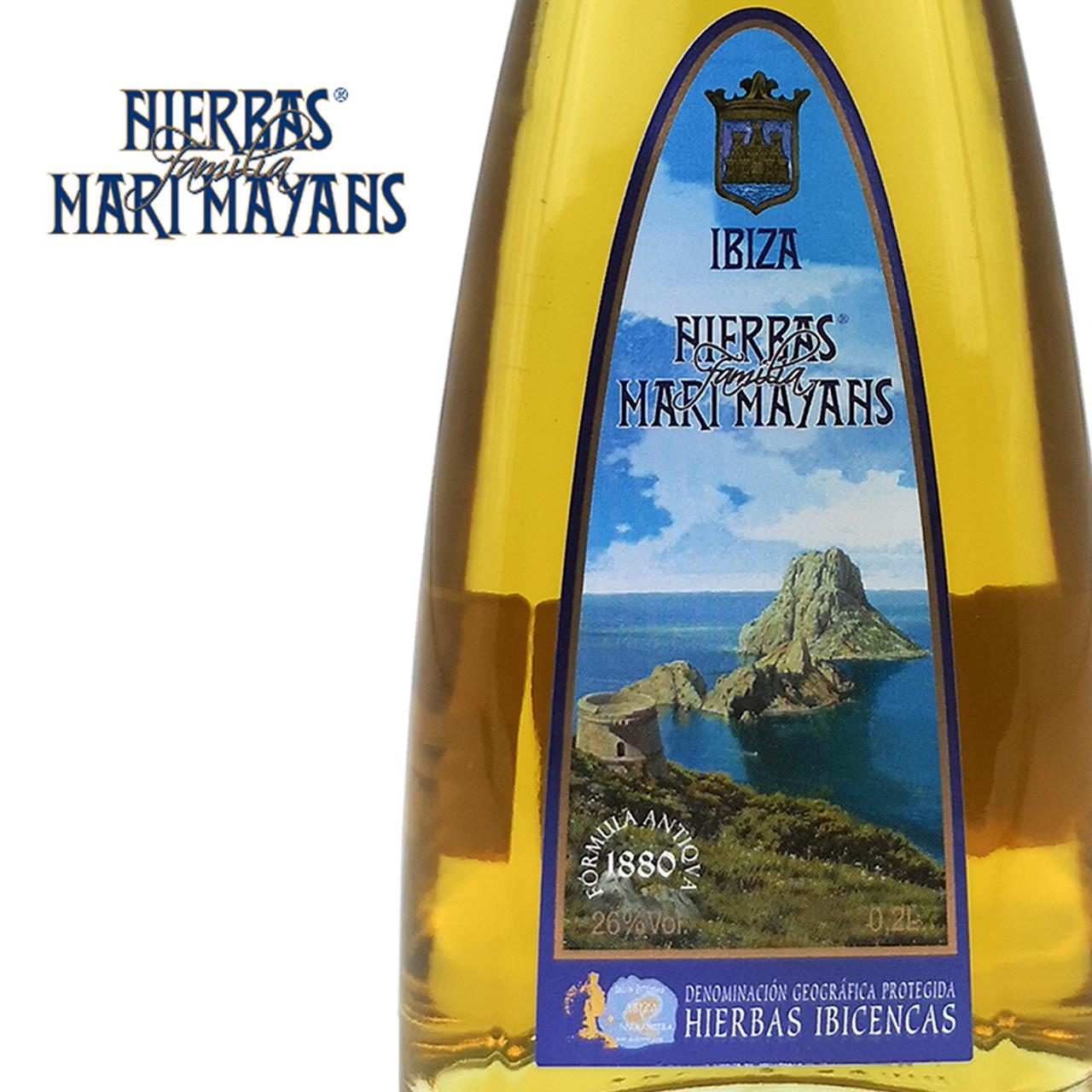 Bild von Hierbas Ibicencas (0,2 L) - Kräuterlikör - Familia Marí Mayans