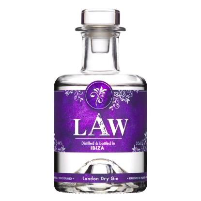Bild von LAW Premium Dry Gin (0,2 L)
